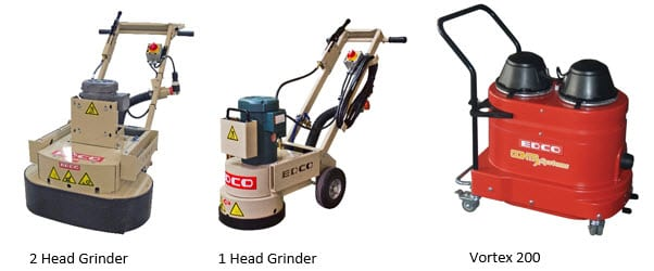edco concrete grinders and scarifiers, |pro tool & supply